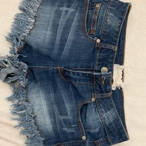 Altar'd State Jean shorts size 1